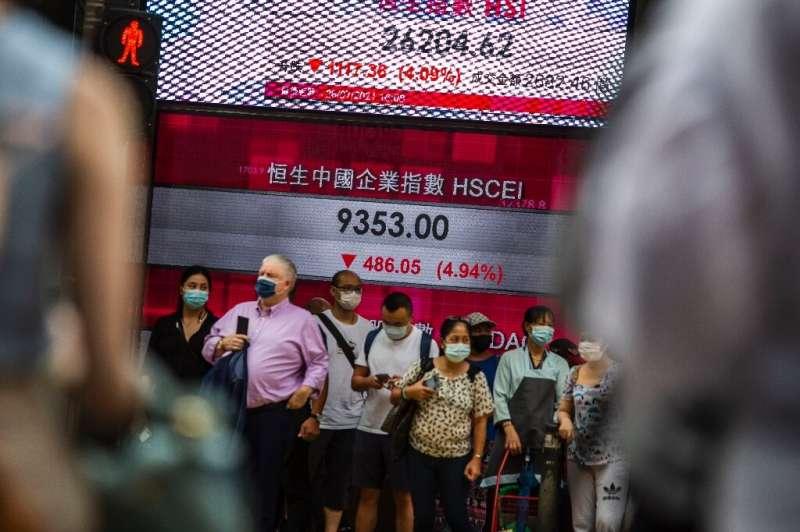 Chinese recent regulatory crackdown has sent stocks plunging