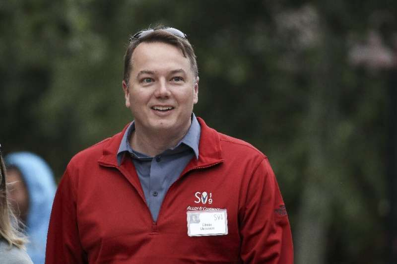 Chris Urmson, chief executive officer of Aurora, attends the annual Allen & Company Sun Valley Conference, July 10, 2019 in