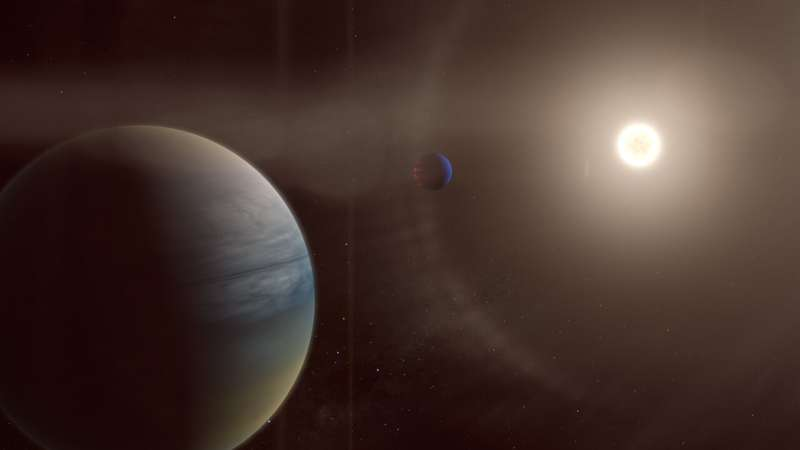 Citizen scientists discover two gaseous planets around a bright, sun-like star