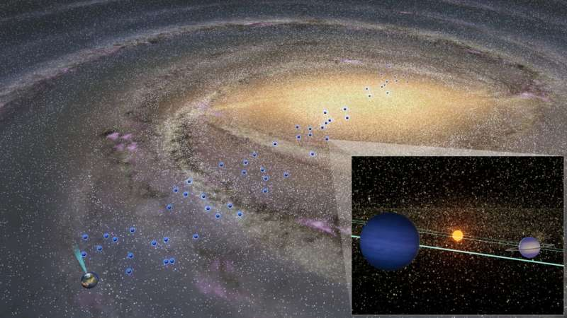 Cold planets exist throughout the galaxy, even in the galactic bulge