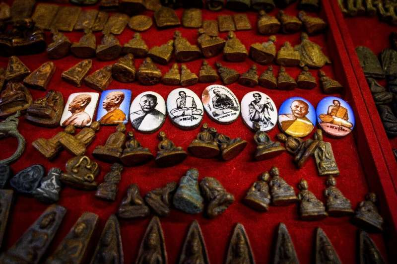 Collecting amulets and other small religious trinkets is a popular pastime in Buddhist-majority Thailand, where the capital Bang