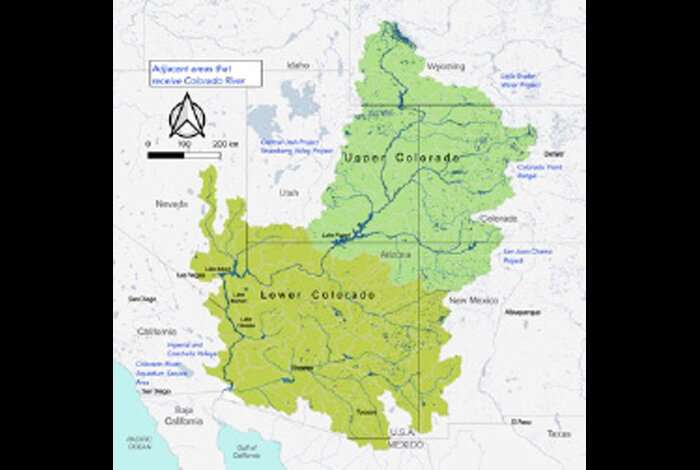 Colorado River basin due for more frequent, intense hydroclimate events
