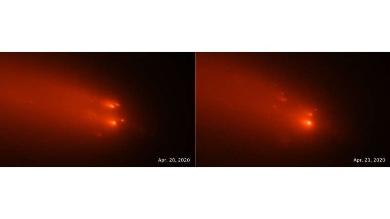 Comet ATLAS may have been a blast from the past