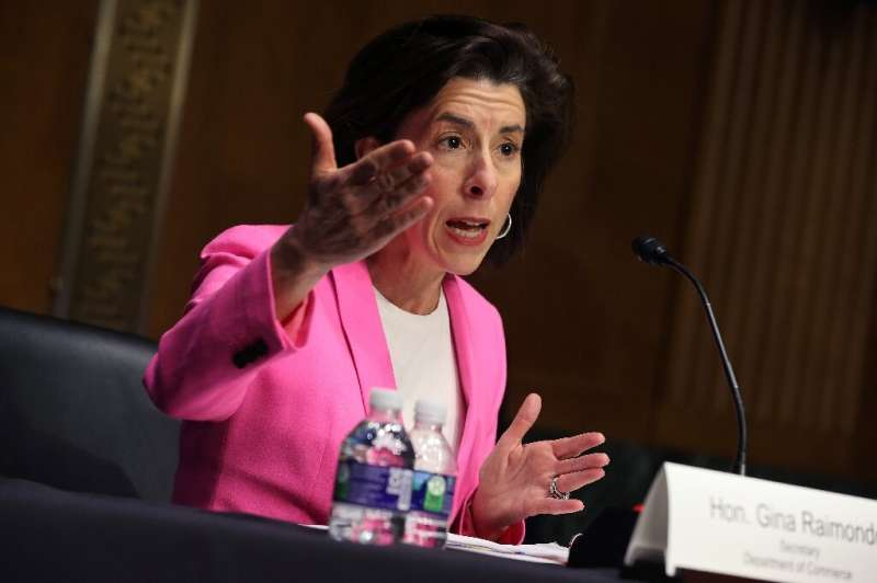 Commerce Secretary Gina Raimondo said the United States must onshore its supply chain, particularly when it comes to semiconduct