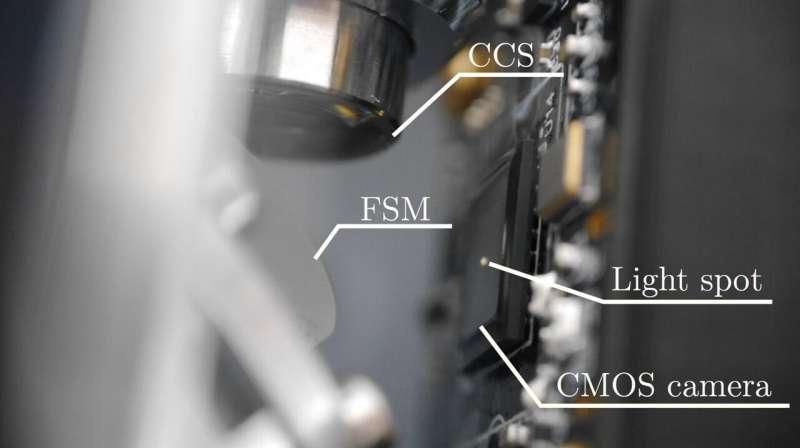 Sistema compacto diseñado para mediciones de superficie basadas en robots de alta precisión