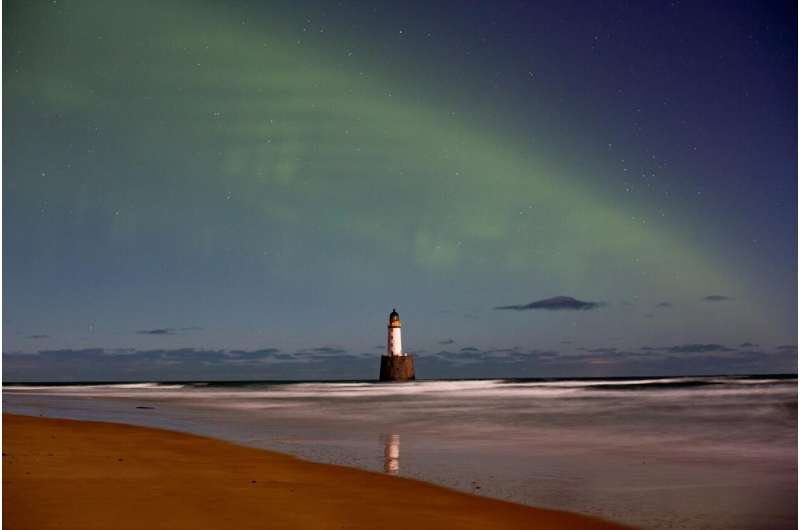 Confirmation of an auroral phenomenon discovered by Finns