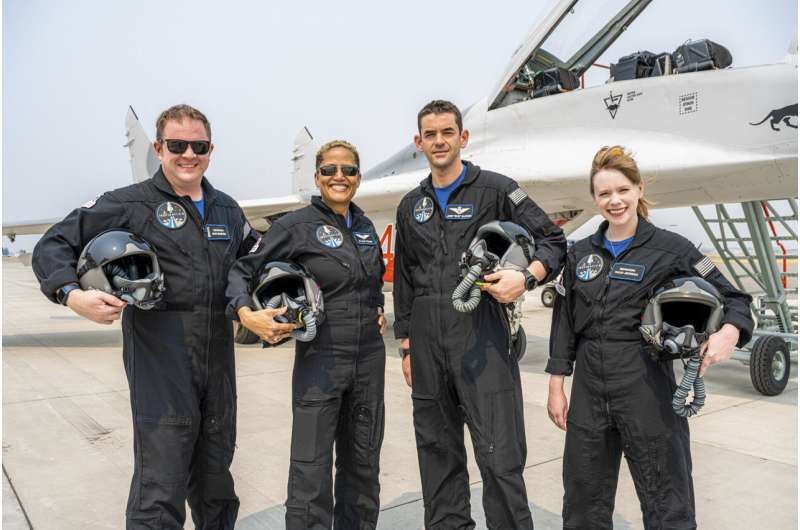 Contest winners, health worker orbiting world in SpaceX 1st