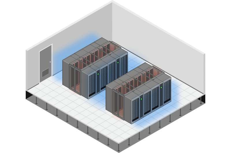 Cooler data centres help take the heat off electric bills