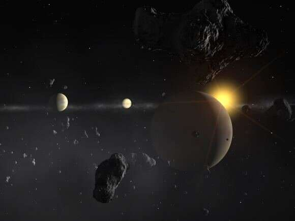 Could life exist in the atmosphere of a sub-Neptune planet?