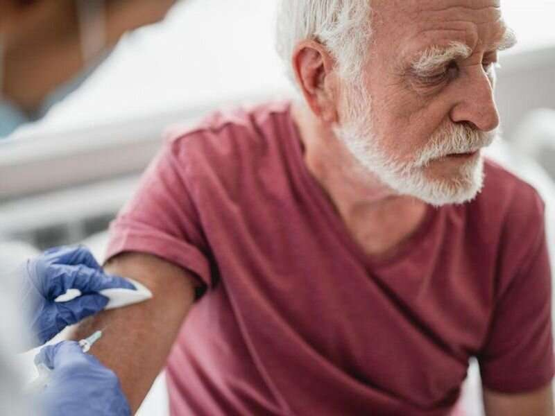COVID-19 cases, deaths down in seniors after vaccine introduction