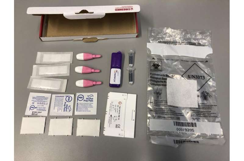 COVID-19 test detects antibodies in hundreds of tiny blood samples