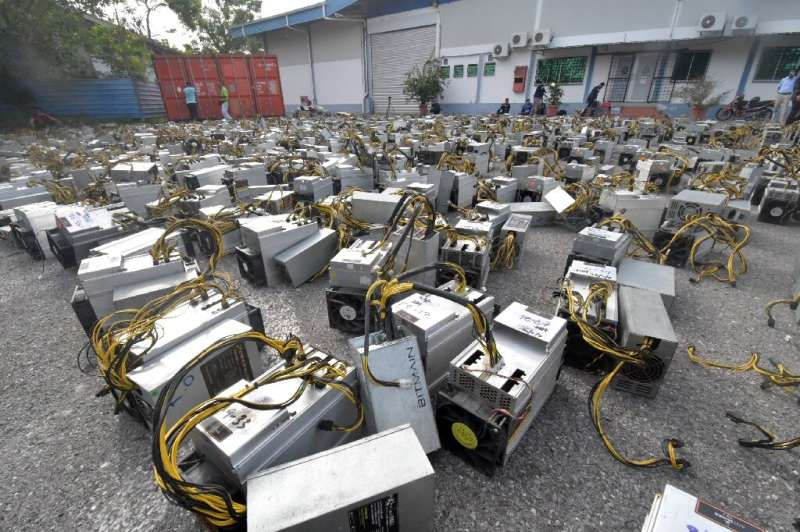 Cryptocurrency mining is common in Malaysia