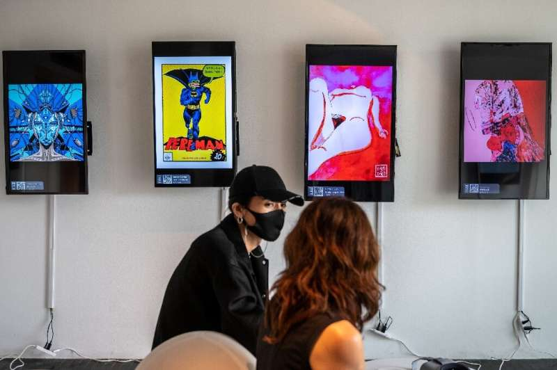CrypTOKYO features around  150 non-fungible tokens (NFT) from several dozen artists, expected to sell for a few hundred dollars