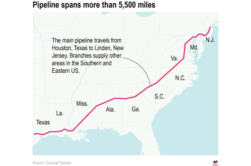 Cyberattack on US pipeline is linked to criminal gang