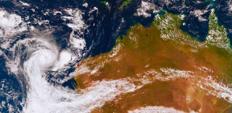 Cyclone Seroja last night demolished parts of WA – and our warming world will bring more of the same