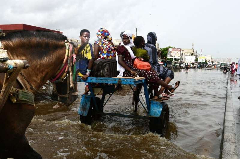 Dakar regularly floods during the July-October rainy reason, but the problem is getting worse