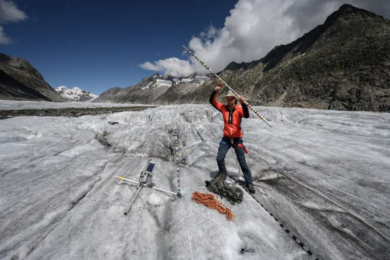 Data gathered from Aletsch, the largest glacier in the Alps, paints a dire picture of the toll that climate change is taking on