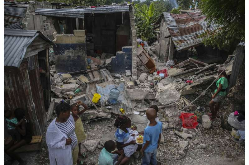 Death toll of powerful earthquake in Haiti soars to 1,297