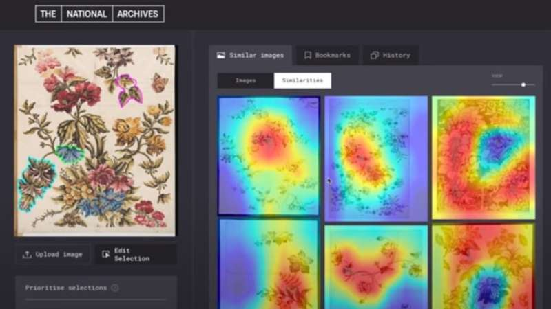 Design meets artificial intelligence to create new visual search engine