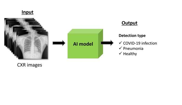 Detecting COVID-19 by analyzing lung images using artificial intelligence models