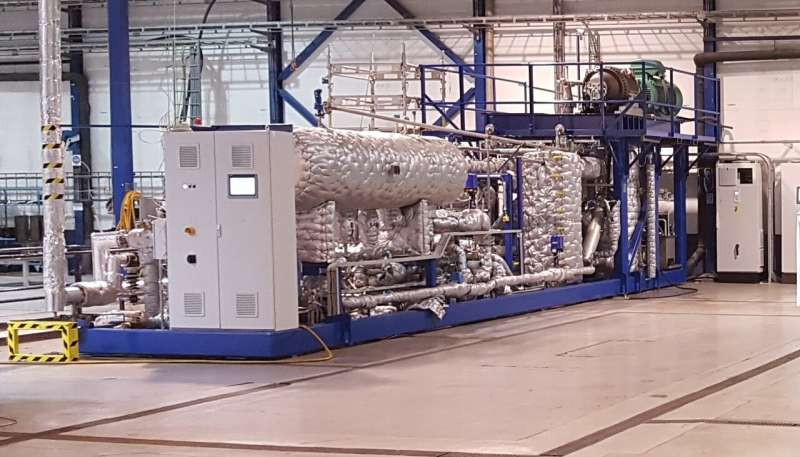 Developing the world's 'hottest' heat pump