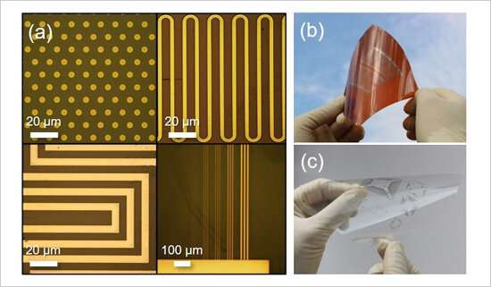 Development of ultra-high-resolution printed electronics using dual surface architectonics