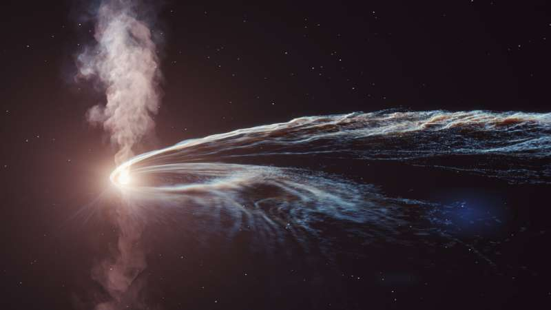 Did a black hole eating a star generate a neutrino? Unlikely, new study shows