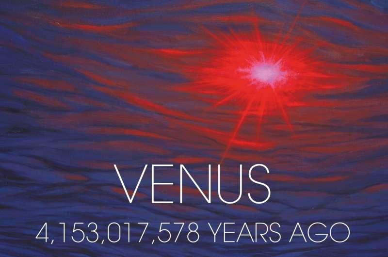 Did Venus ever have oceans?