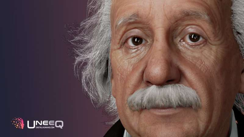 Digital human platform brings to life Einstein's voice for a conversational chatbot