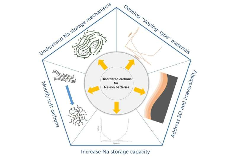 Disordered carbon anodes for Na-ion batteries—quo vadis?