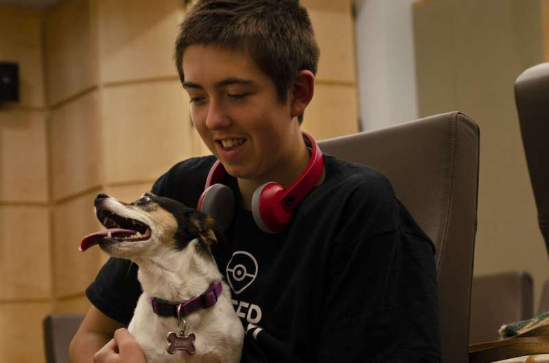 Dogs synchronize their behavior with children, but not as much as with adults, study finds