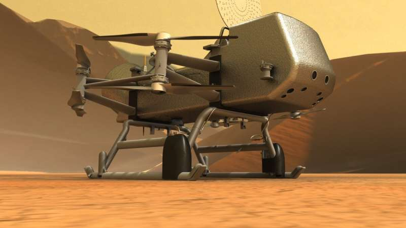 Dragonfly mission to Titan announces big science goals
