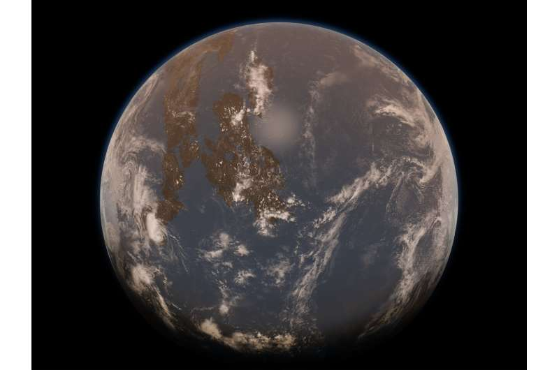 Early Earth's hot mantle may have led to Archean 'water world'