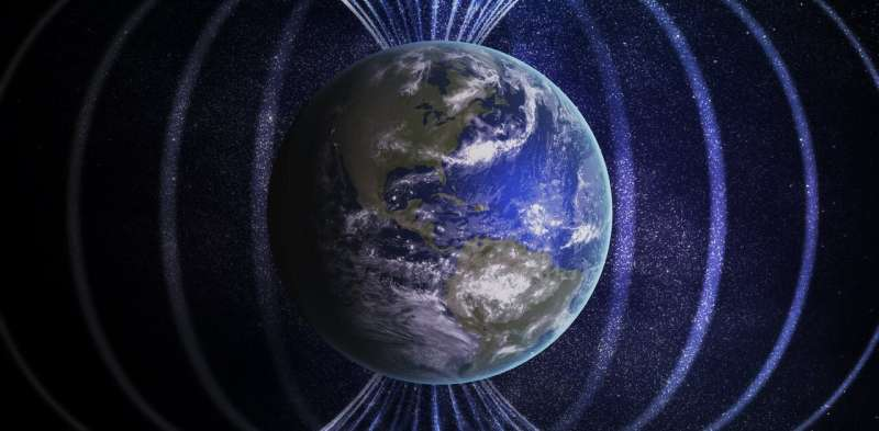 Earth's magnetic field broke down 42,000 years ago and caused massive sudden climate change