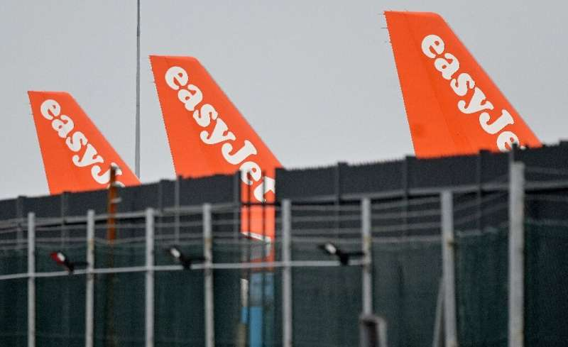 """EasyJet's losses widened but the airline says it is """"encouraged by the reopening of travel across much of Europe""""."""