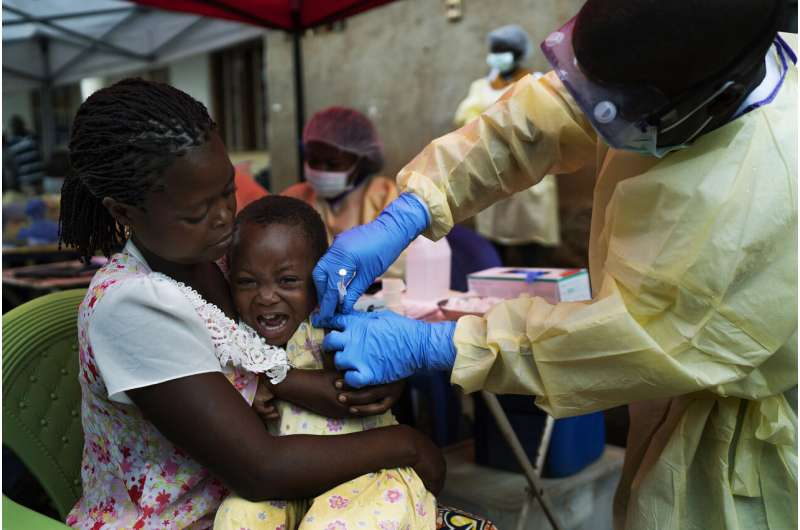 Ebola vaccines stockpiled against future outbreaks