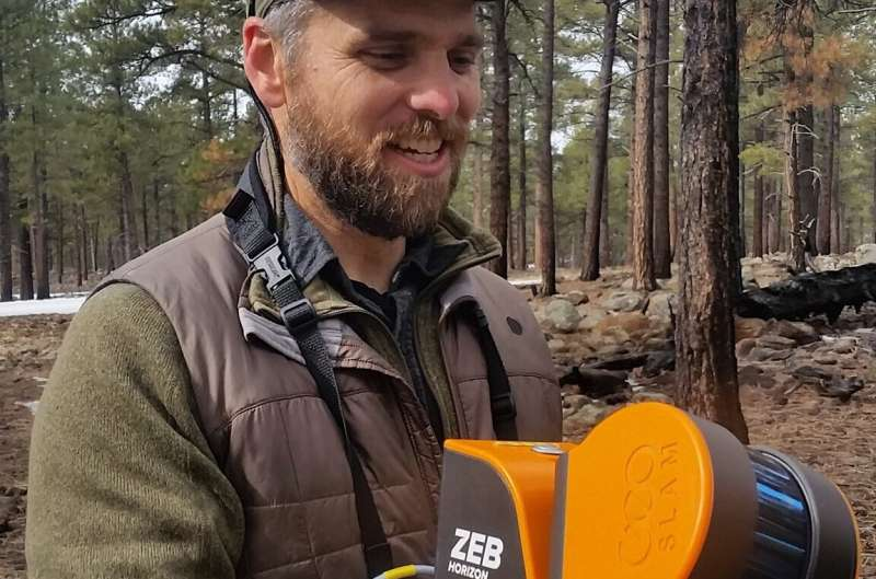 Ecologists compare accuracy of lidar technologies for monitoring forest vegetation