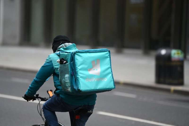 Eight-year-old Deliveroo remains on track for the City's biggest listing in 10 years thanks to pandemic lockdowns boosting sales