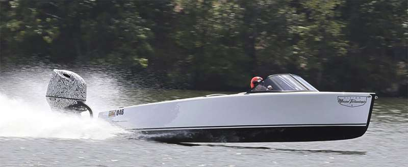 Electric boats making waves without the noise