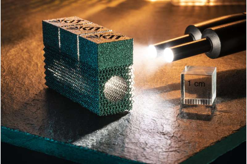 Electron beam melting gets brittle metal into shape