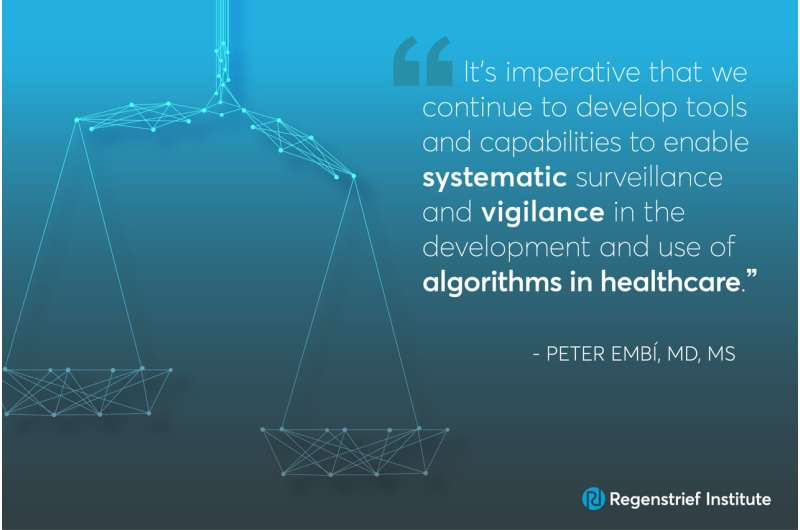 Eliminating bias from healthcare AI critical to improve health equity