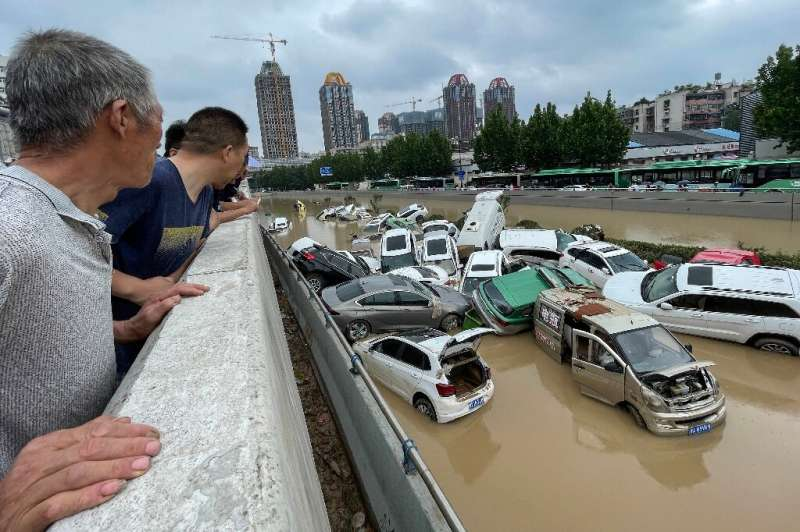 Endless city sprawl is putting pressure on drainage in China