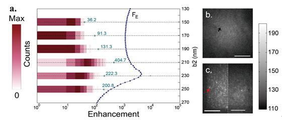 Engineering single-molecule fluorescence with asymmetric nano-antennas