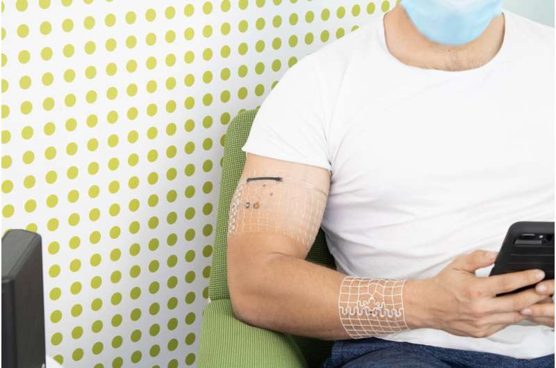 Engineers 3D-print personalized, wireless wearables that never need a charge