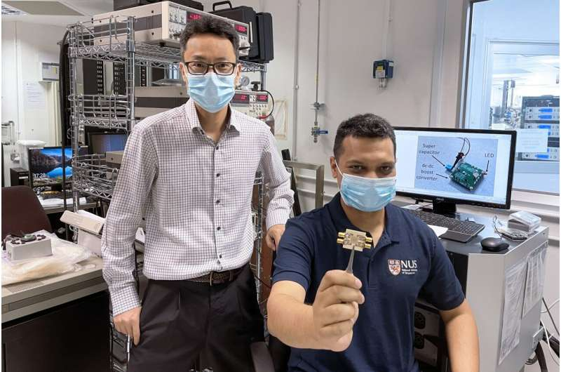 Engineers harvest Wi-Fi signals to power small electronics