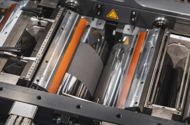 Environmentally friendly manufacture of battery electrodes