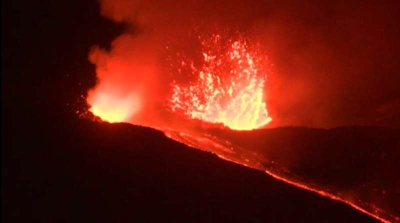 Etna is one of the world's most active volcanoes. This is a picture of an earlier eruption in May 2019