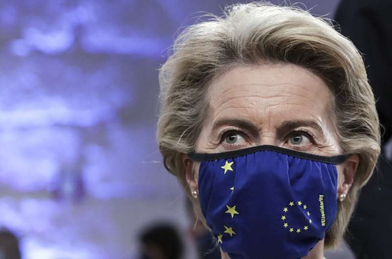 EU calls on US to push exports to counter vaccine shortage