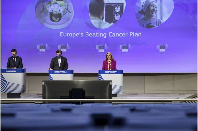 EU wants to step up fight against cancer amid virus pandemic