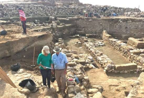 Evidence that a cosmic impact destroyed ancient city in the Jordan Valley